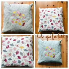 Coussin ginkgos